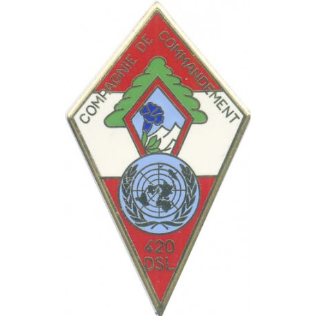 27° DIVISION ALPINE COMPAGNIE COMMANDEMENT 420° DSL LIBAN