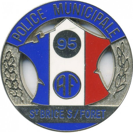 POLICE MUNICIPALE ST BRICE S/FORET 95