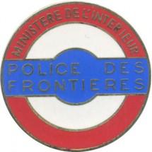 POLICE DES FRONTIERES MINISTERE DE L'INTERIEUR