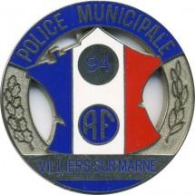 POLICE MUNICIPALE VILLIERS SUR MARNE 94