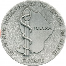 GUYANE DIRECTION INTERARMEES DU SERVICE SANTE