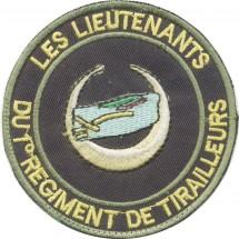 1° REGIMENT DE TIRAILLEURS LES LIEUTENANTS