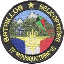 BATAILLON HELICOPTERES TF MOUSQUETAIRE VI