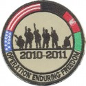 OPERATION ENDURING FREEDOM 2010-2011 USA AFGHANISTAN