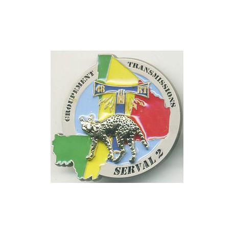 48° REGIMENT DE TRANSMISSIONS SERVAL 2