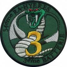 54° REGIMENT D'ARTILLERIE 3° BATTERIE