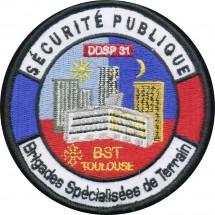 DDSP 31 TOULOUSE BRIGADES SPECIALISEES DE TERRAIN
