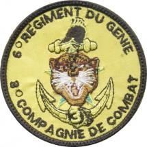 6° REGIMENT DU GNEIE 3° COMPAGNIE DE COMBAT