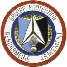 GROUPE PROTECTION GENDARMERIE ARMEMENT
