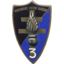 3° LEGION GENDARMERIE D'OCCUPATION