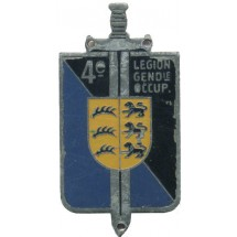 4° LEGION GENDARMERIE D'OCCUPATION