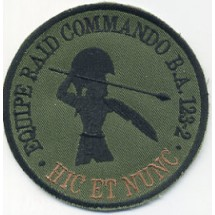 EQUIPE RAID COMMANDO BA 123-2