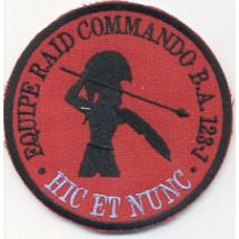 EQUIPE RAID COMMANDO BA 123-1