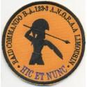 EQUIPE RAID COMMANDO BA 123-3 A.N.O.R.A.A LIMOUSIN