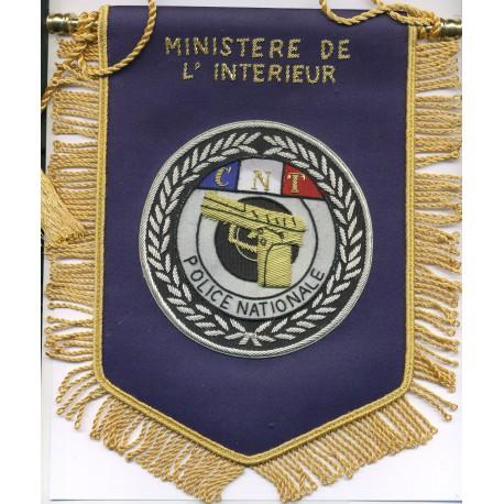 POLICE MINISTERE DE L'INTERIEUR CNT
