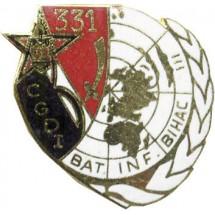 31° REGIMENT DU GENIE 331° CGDI BOSNIE 1993-94