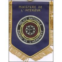 MINISTERE DE L'INTERIEUR BUREAU DE L'ARMEMENT