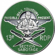 13° RDP SECTION SABOTAGE