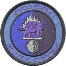 MONITEUR CYNOPHILE - bleu